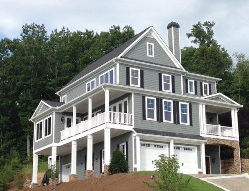 3,5 Katlı Hafif Çelik Villa Örnegi